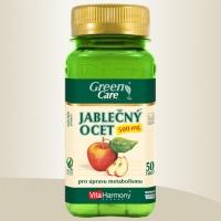 JABLEČNÝ OCET 500 mg - 50 tbl. Pro úpravu metabolismu a štíhlou linii