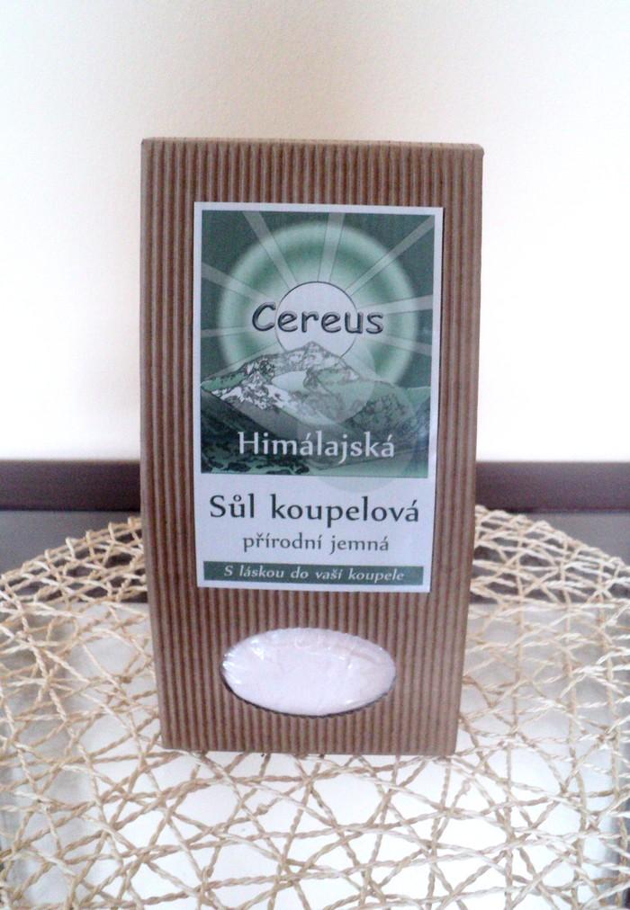 Koupelová sůl jemná 1 kg himálajská koupelová sůl Cereus