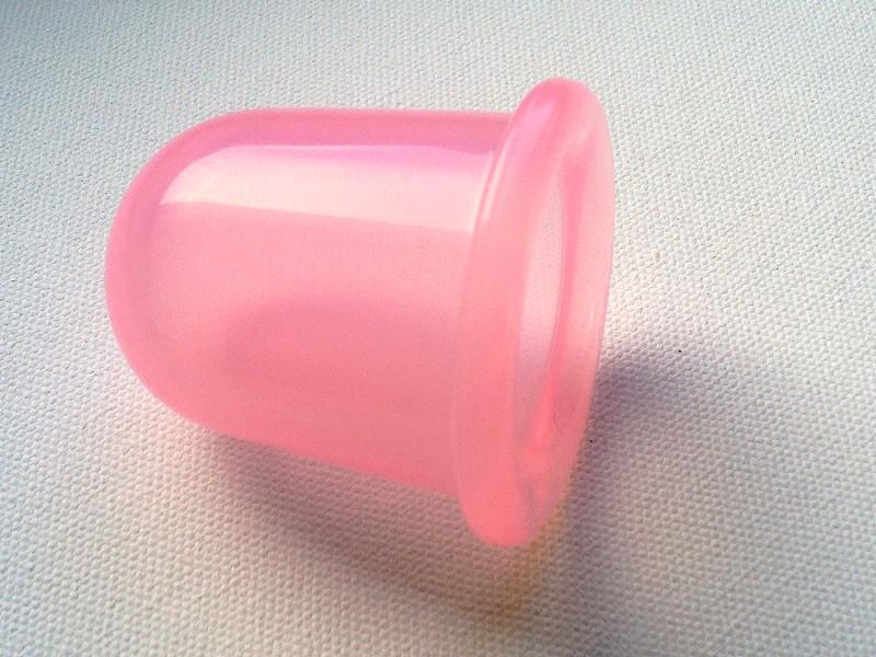 BAŇKA SILIKONOVÁ růžová, prům. 53 mm
