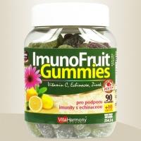 ImunoFruit Gummies, 90+10 gummies pro podporu imunity s echinaceou