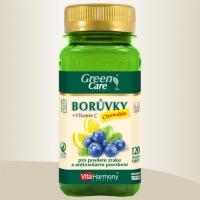 BORŮVKY s vitaminem C Chewable - 120 žvýk. tbl., doplněk stravy pro posílení zraku