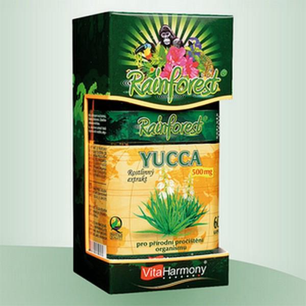 YUCCA 500 mg - 60 kapslí Šetrné a precizní pročištění organismu