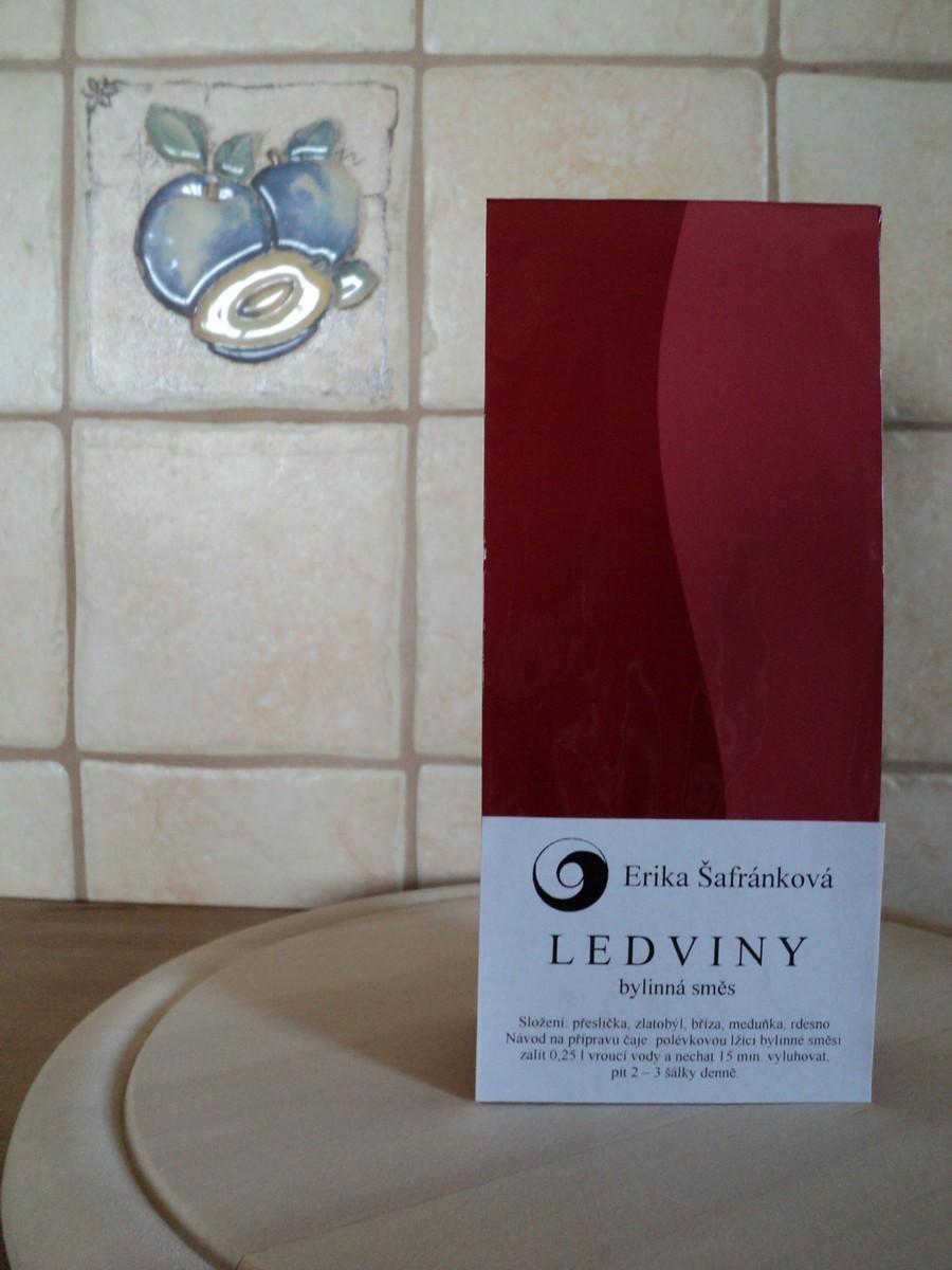 BYLINNÁ SMĚS LEDVINY, 50 g bylinná směs, bylinný čaj