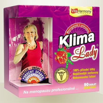 KLIMALADY® - 90 tbl., pro období klimakteria Profesionálně na menopaozu