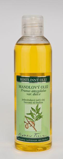 MANDLOVÝ OLEJ - 200 ml jedlý olej lisovaný za studena