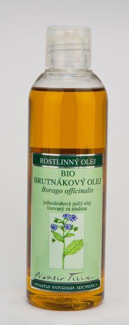 BRUTNÁKOVÝ OLEJ BIO - 200 ml jednodruhový jedlý olej lisovaný za studena