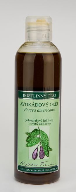 AVOKÁDOVÝ OLEJ - 200 ml jednodruhový jedlý olej lisovaný za studena
