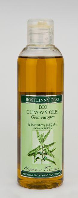 OLIVOVÝ OLEJ BIO - 200 ml jednodruhový jedlý olej extra panenský