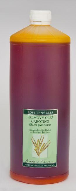PALMOVÝ OLEJ CAROTINO, 1000 ml jednodruhový jedlý olej