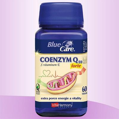COENZYM Q10 Forte (30mg) + vitamín E - 60 tob. Extra porce energie a vitality