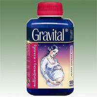 GRAVITALl® - XXL economy balení 180 tablet multivitaminy pro těhotné a kojící ženy