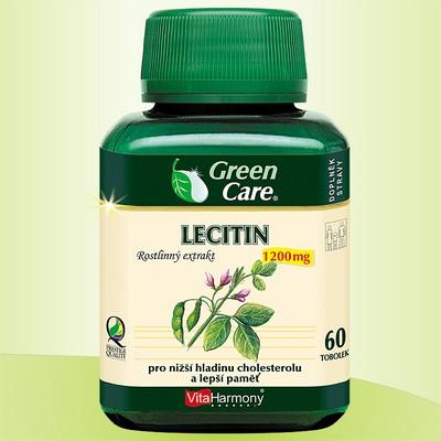 LECITIN 1200 mg - 60 tob. Posílení paměti a snížení cholesterolu je teprve začátek…